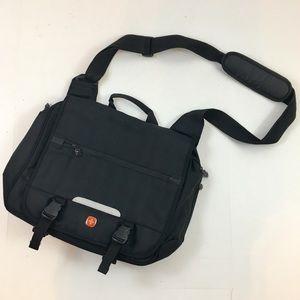 SwissGear Black Laptop Messenger Bag